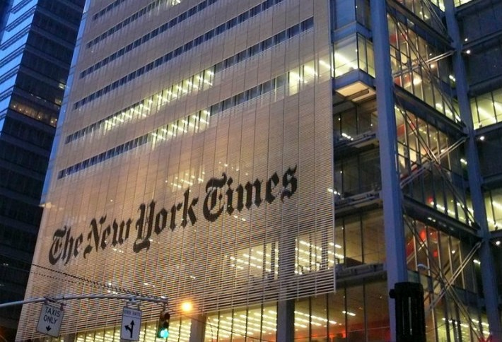 10. The New York Times Building