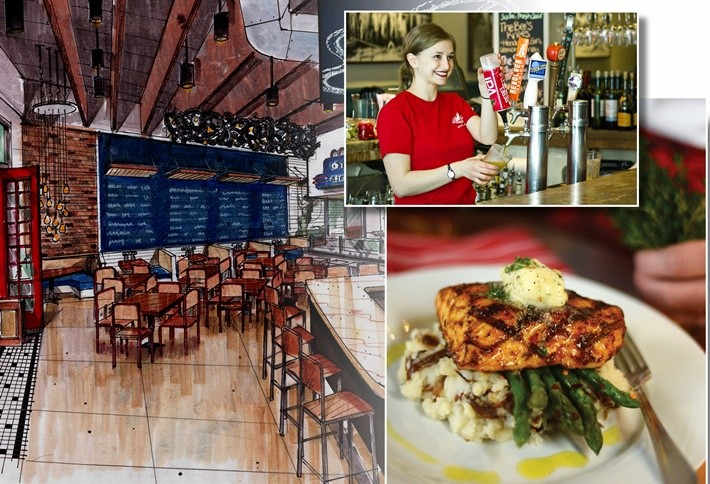 The story behind cityline s retail lineup for Fish city grill menu
