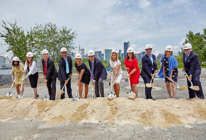 Greenpoint Landing Groundbreaking Sets Stage for New Brooklyn Waterfront